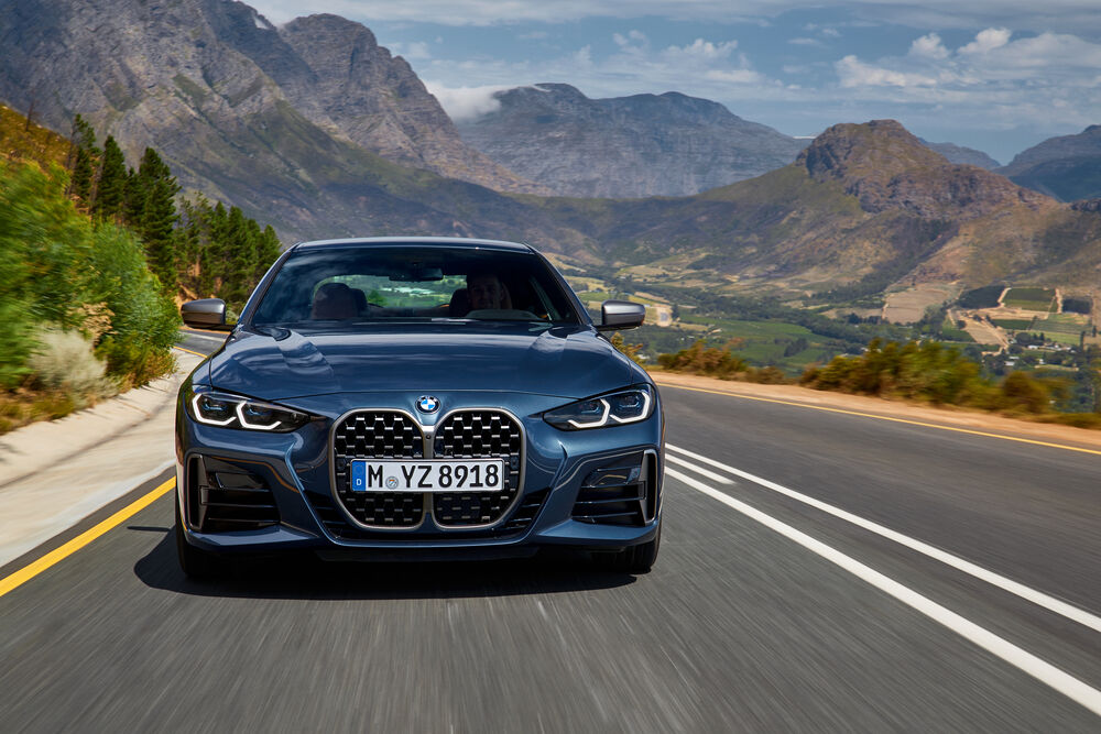 Neues BMW 4er Coupé