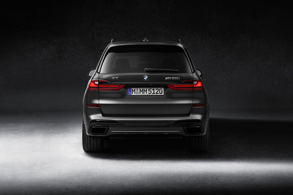 BMW X7 Edition Dark Shadow